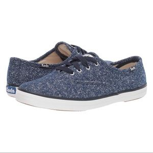 Keds Champion Lurex Jersey Sparkly Sneakers 10